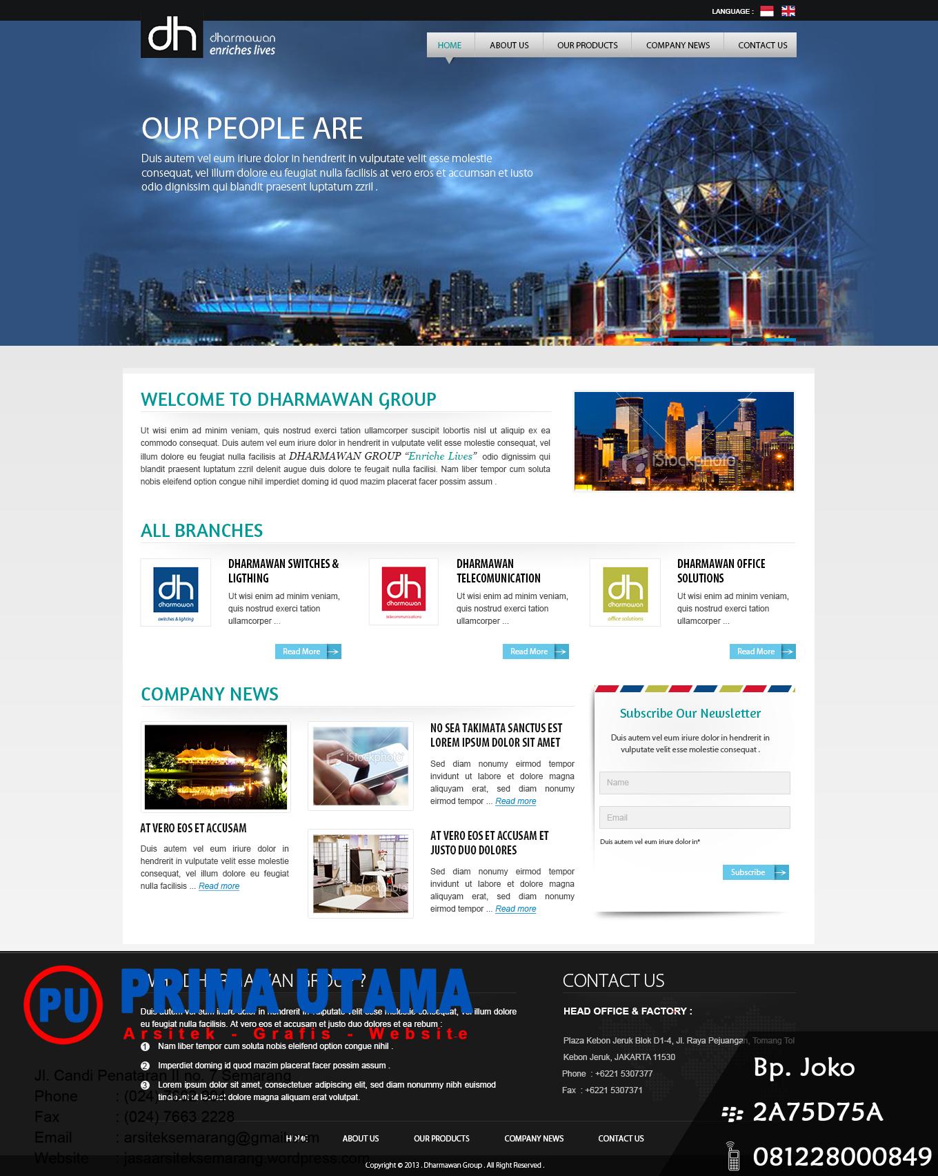 Jasa Bikin Desain Website Toko Online Profesional Dan Company